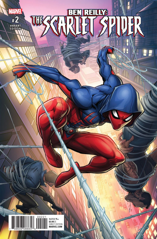 Ben Reilly: The Scarlet Spider #2 (Brown Cover)