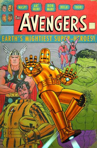 Avengers #9 (Many Armors Variant)