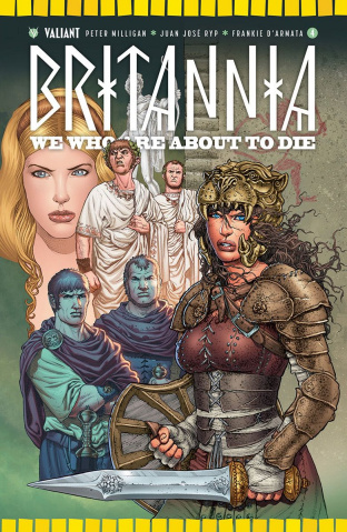 Britannia: We Who Are About to Die #4 (Ryp Cover)