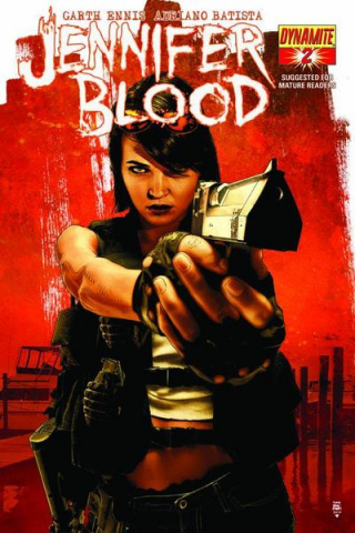 Garth Ennis' Jennifer Blood #2