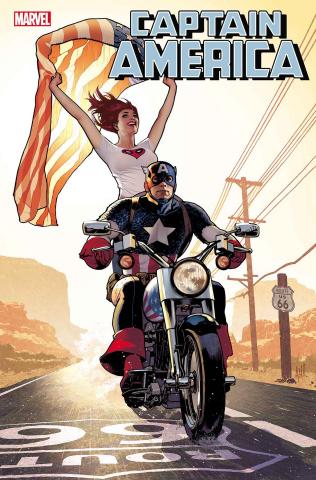 Captain America #15 (Hughes Mary Jane Cover)