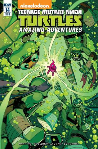 Teenage Mutant Ninja Turtles: Amazing Adventures #14