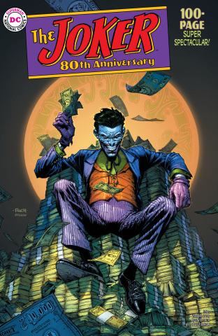 Joker 80th Anniversary 100 Page Super Spectacular #1 (1950s David Finch Cover)