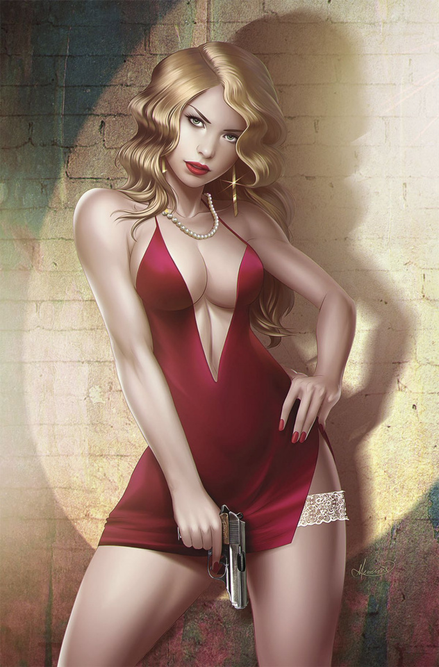 Grimm Fairy Tales: Red Agent - The Human Order #9 (Meguro Cover)
