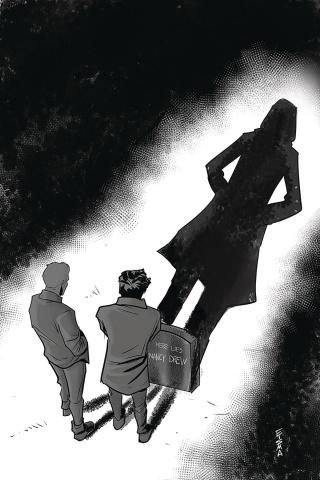 Nancy Drew & The Hardy Boys: The Death of Nancy Drew #1 (25 Copy Eisma Cover)
