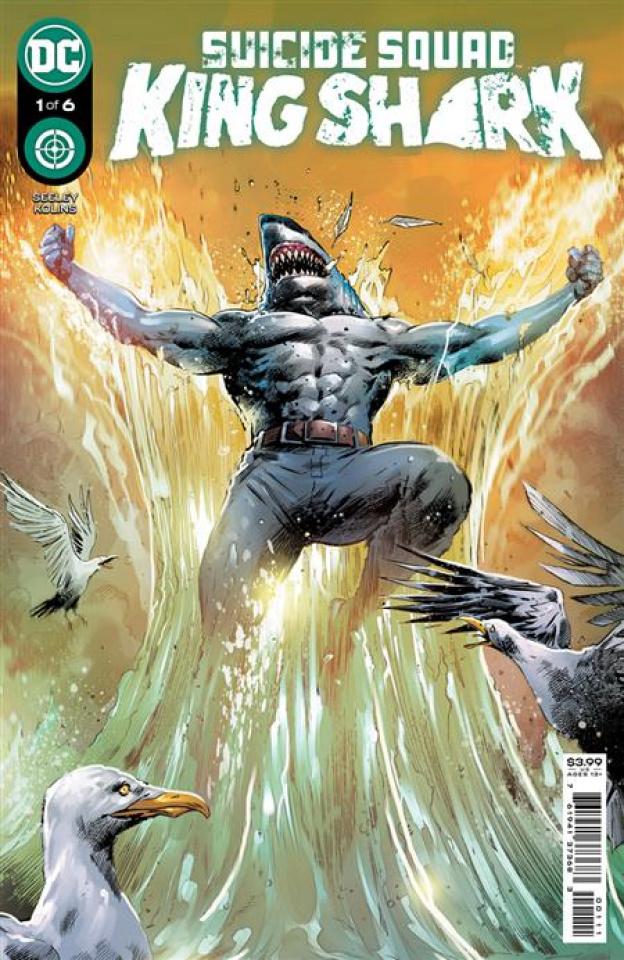 Suicide Squad: King Shark #1 (Trevor Hairsine Cover)