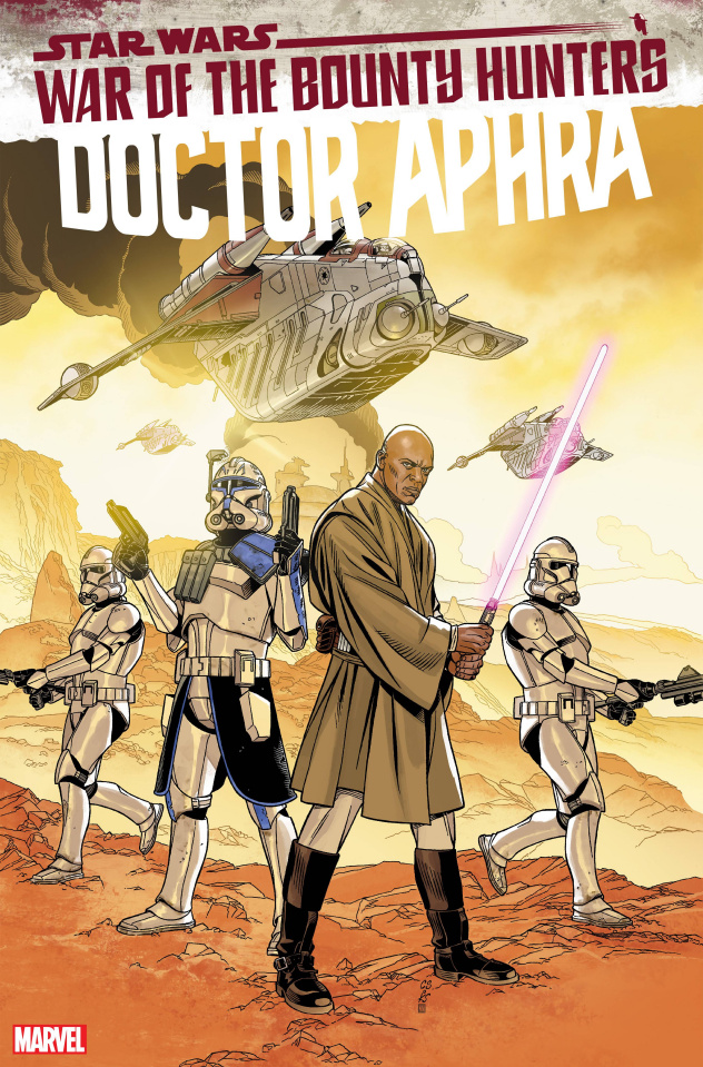 Star Wars: Doctor Aphra #15 (Sprouse Lucasfilm 50th Anniversary Cover)