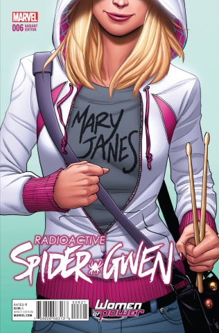 Spider-Gwen #6 (Lupacchino Cover)