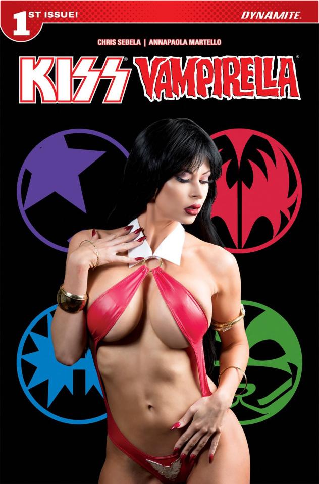 KISS / Vampirella #1 (Cosplay Cover)