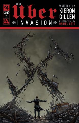 Über: Invasion #4 (War Crimes Cover)