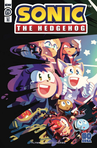 Sonic the Hedgehog #29 (10 Copy Fourdraine Cover)