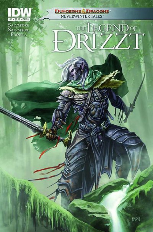 Dungeons & Dragons: The Legend of Drizzt #1