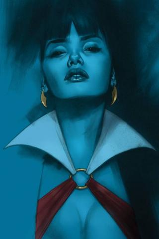 Vengeance of Vampirella #10 (Oliver Virgin Cover)