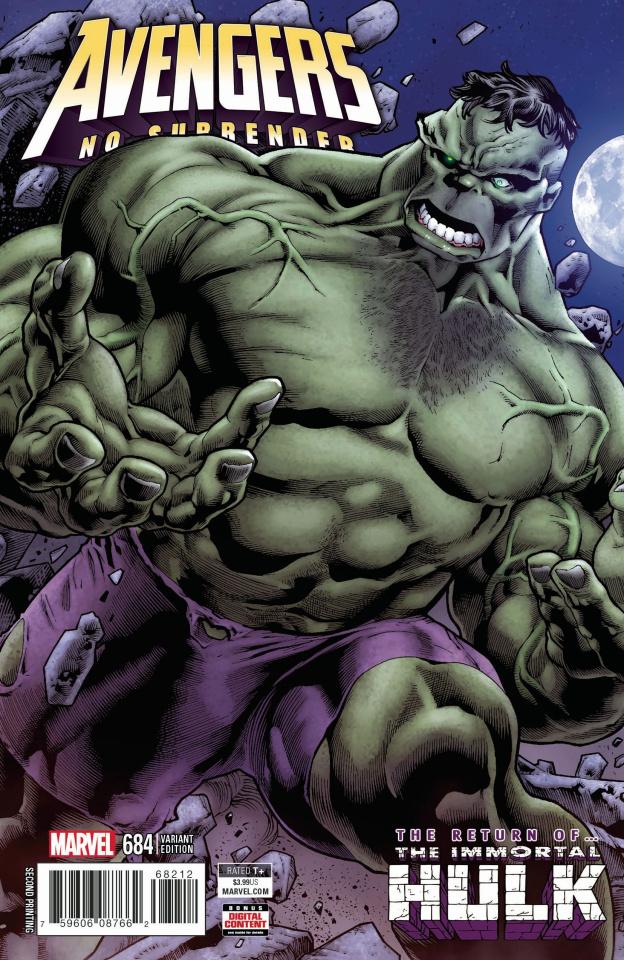 Avengers #684 (Bennett 2nd Printing)
