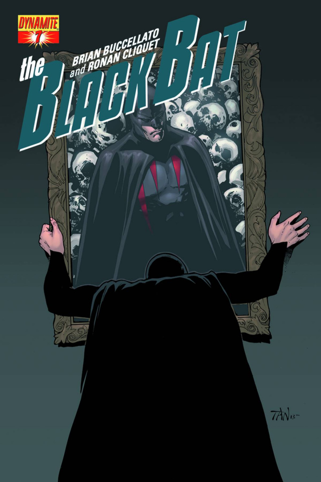The Black Bat #8 (Tan Cover)