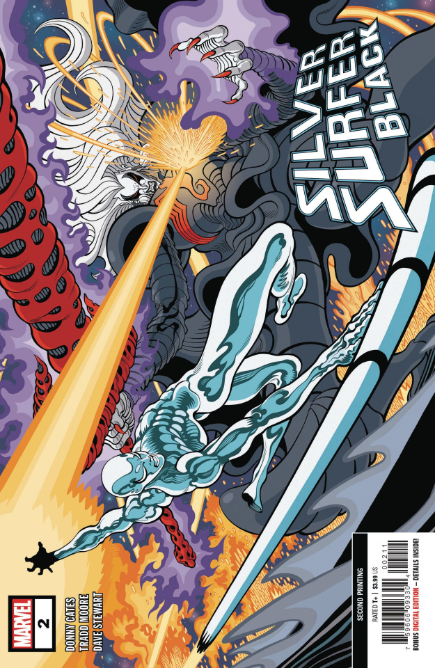 Silver Surfer: Black #2 (Moore 2nd Printing)