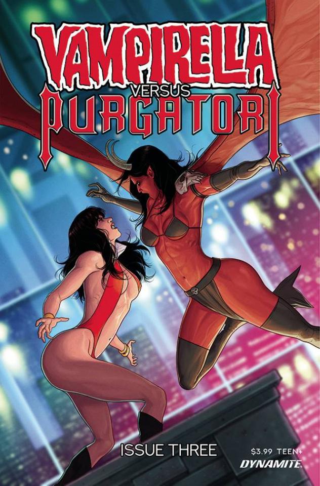 Vampirella vs. Purgatori #3 (Musabekov Cover)