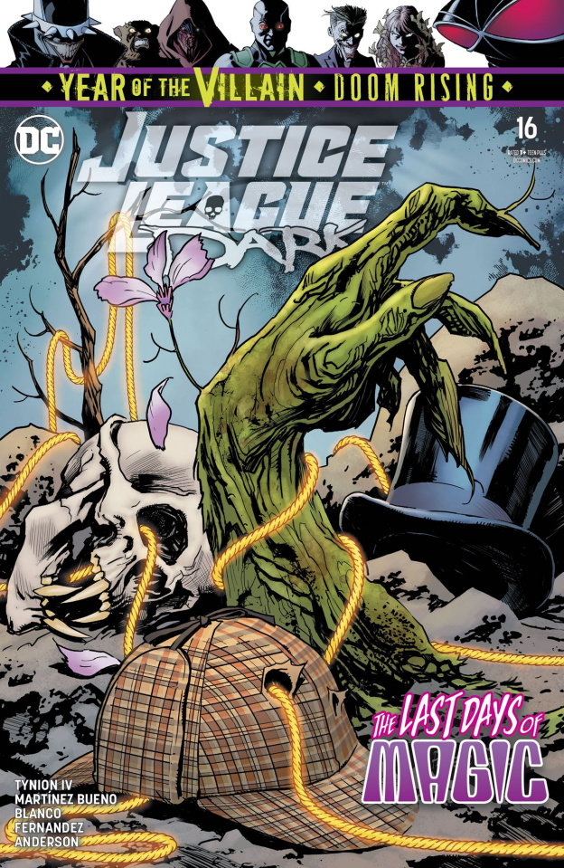 Justice League Dark #16 (Year of the Villain)