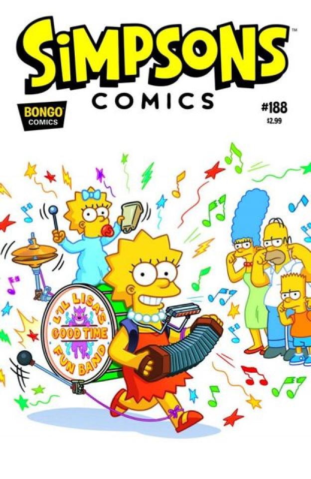 Simpsons Comics #188