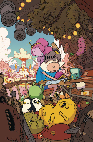Adventure Time Comics #23 (10 Copy Wolski Cover)