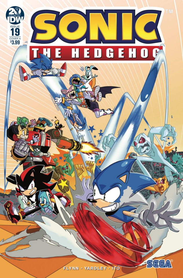 Sonic the Hedgehog #19 (Jampole Cover)