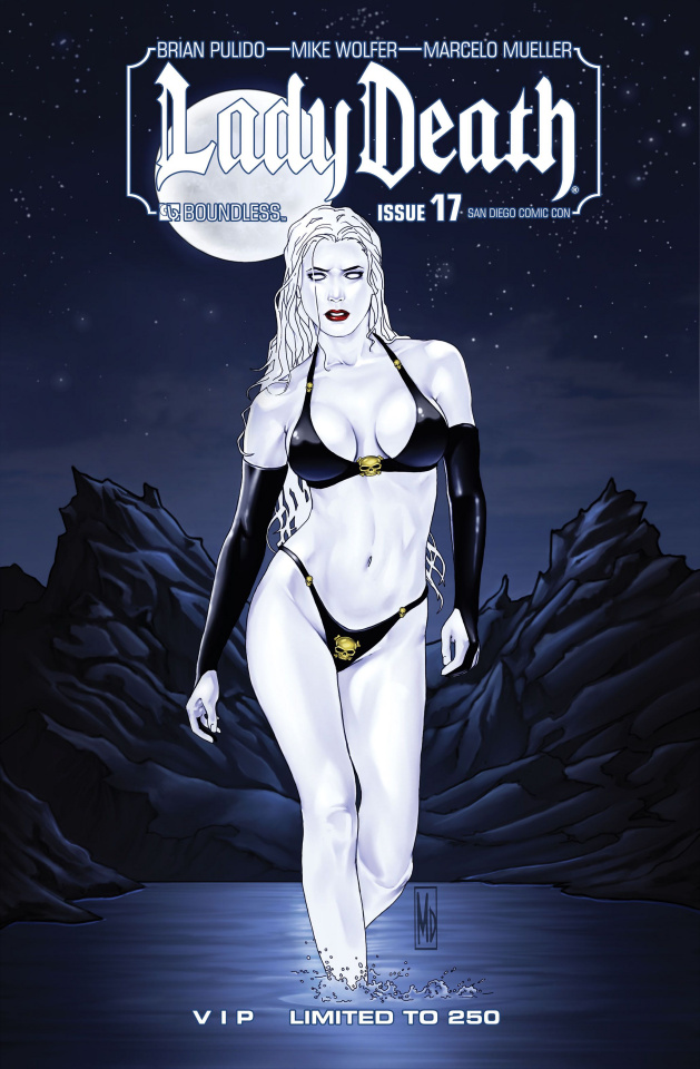 Lady Death #17 (SDCC VIP Cover)
