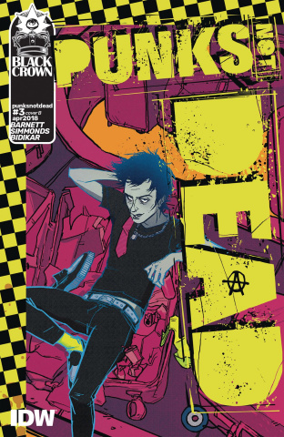 Punk's Not Dead #3 (Wu Cover)