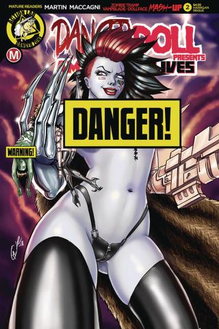 Danger Doll Squad Presents: Amalgama Lives #2 (Harrigan Cover)
