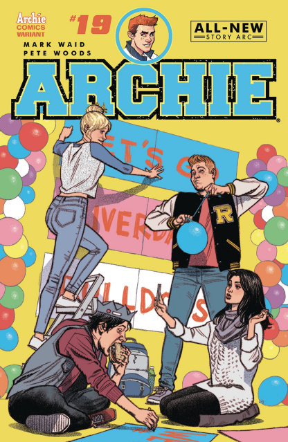 Archie #19 (Greg Smallwood Cover)