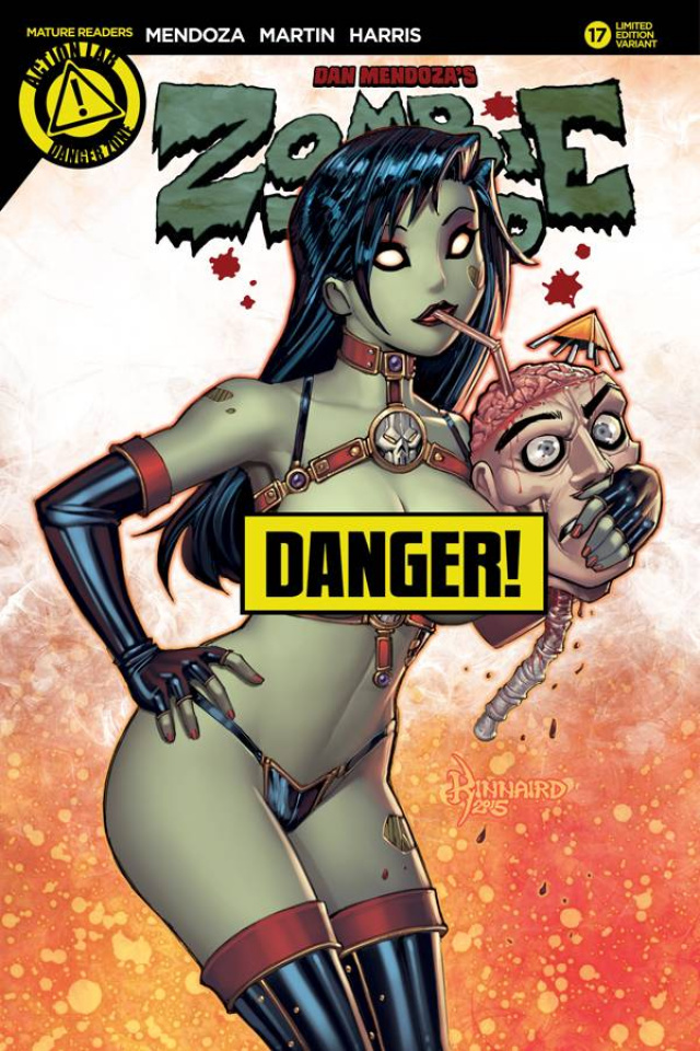 Zombie Tramp #17 (Kinnaird Risque Cover)