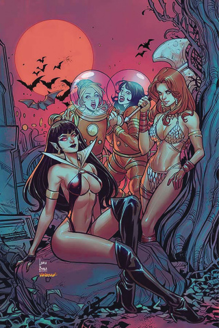 Red Sonja and Vampirella Meet Betty and Veronica #8 (30 Copy Braga Virgin Cover)