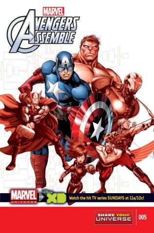Marvel Universe: Avengers Assemble #5
