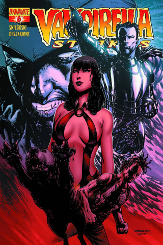 Vampirella Strikes #6 (Johnny D Cover)