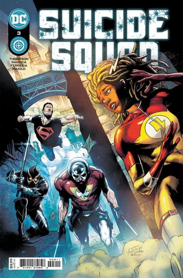 Suicide Squad #3 (Eduardo Pansica Cover)