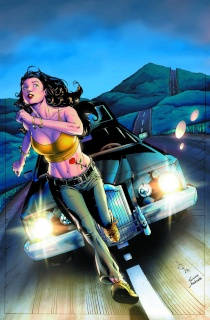 Grimm Fairy Tales: Grimm Tales of Terror #1 (Johnson Cover)