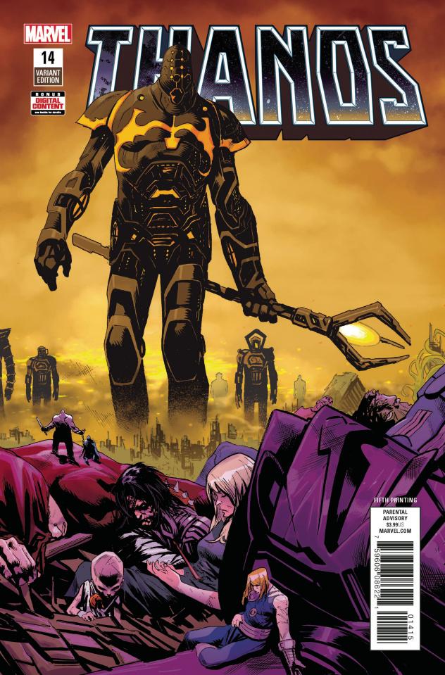 Thanos #14 (Shaw 5th Printing)