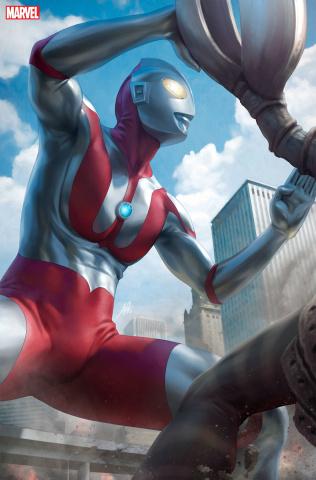 The Rise of Ultraman #2 (Artgerm Virgin Cover)