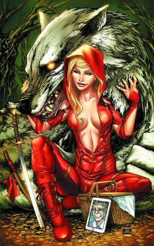 Grimm Fairy Tales: Code Red #1 (Caldwell Cover)