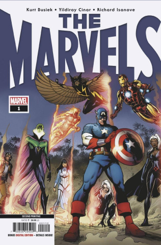 The Marvels #1 (Cinar 2nd Printing)