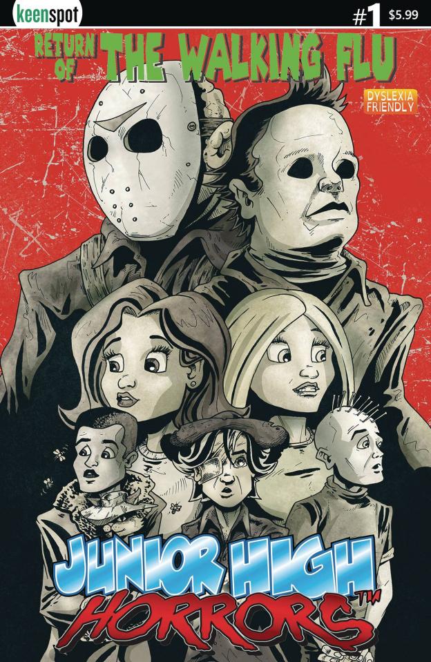 Junior High Horrors: The Walking Flu Vaccine Edition #1 (Silverbax Cover)