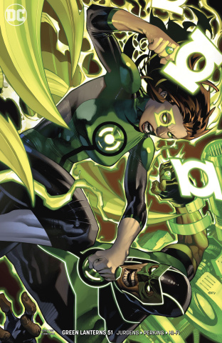 Green Lanterns #51 (Variant Cover)