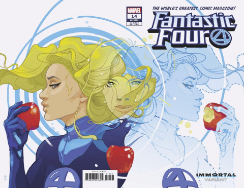 Fantastic Four #14 (Ward Invisible Woman Wraparound Cover)