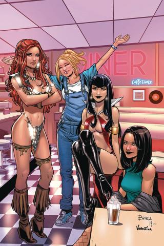 Red Sonja and Vampirella Meet Betty and Veronica #11 (30 Copy Braga Virgin Cover)
