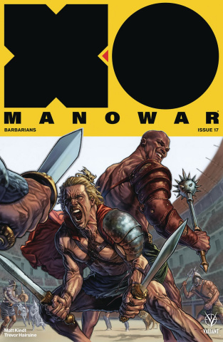 X-O Manowar #17 (Larosa Cover)