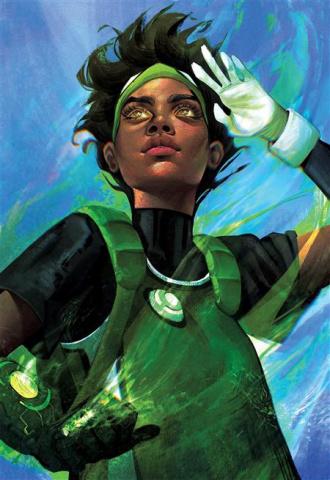 Green Lantern #8 (Juliet Nneka Card Stock Cover)