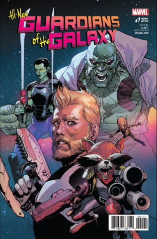 All-New Guardians of the Galaxy #1 (Yu Cover)