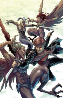 Grimm Fairy Tales: Inferno - The Rings of Hell #2 (Laiso Cover)