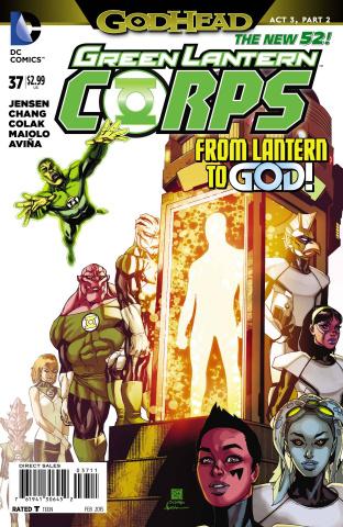Green Lantern Corps #37 (Godhead)