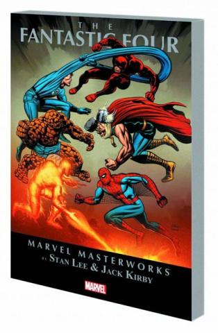 Fantastic Four Vol. 8 (Marvel Masterworks)
