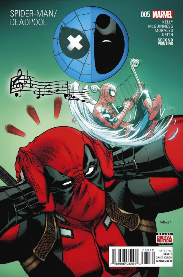 Spider-Man / Deadpool #5 (McGuinness 2nd Printing)